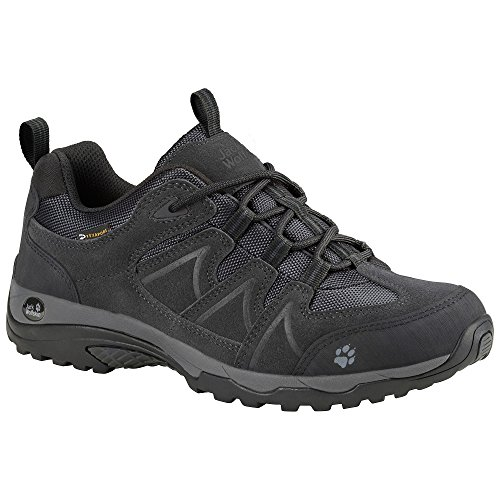 Women Wolfskin phantom Schwarz jack Low Traction Texapore wIxdqz