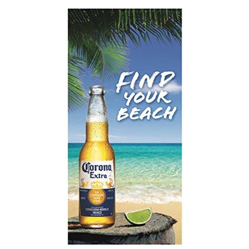 Corona Extra Find Beach Towel