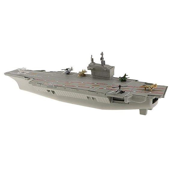 XZANTE Invencible Portaaviones Juguetes de Modelo USS Gatito ...