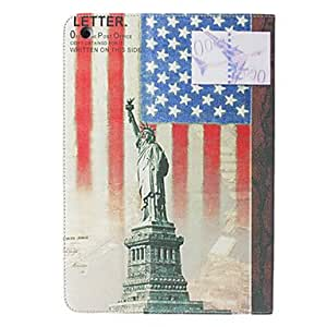 Buy Statue of Liberty Cross Leather Stand Cover for iPad Air