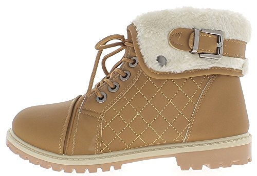 Camel Boots Filled 3 cm with Sole Crampons and Back Heel aSJ3MwoQ