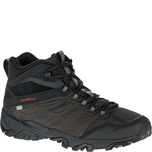 Image of the Merrell Men's Moab FST Ice + Thermo Winter Boot, Black, 12 M US