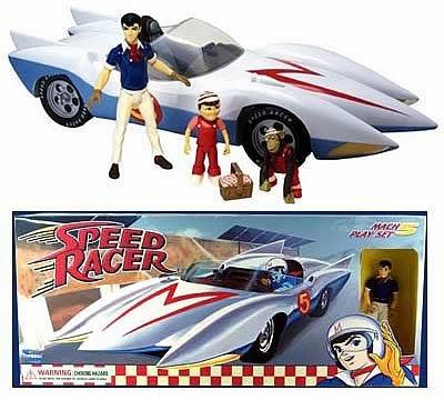 Speed Racer Mach 5 Playset -