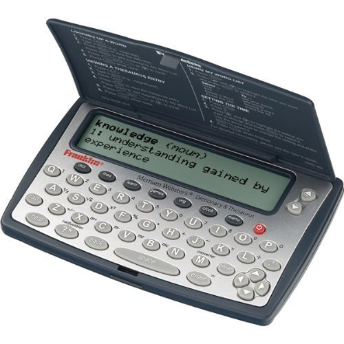 Franklin MWD-460A Merriam-Webster Dictionary and Thesaurus Help You BuildVocabulary and Spelling Skills by FR