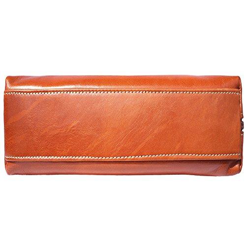 BOLSO DE HOMBRO CLÁSICO DE CUERO BRILLANTE 6886 Leather