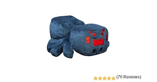 Azul Minecraft 8751 Jinx Happy Explorer Cave Spider Peluche de Felpa Multicolor 7 Pulgadas