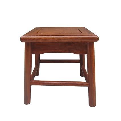 Muebles de caoba palisandro pequeño taburete / alas de pollo ...