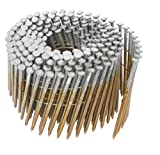 Hitachi 12213 3'' x .120 SM Full Round Head Brite Basic Wire Coil Framing Nails (4000 Count)
