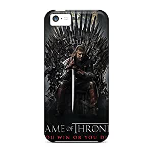CharlesPoirier Iphone 5c Protector Hard Cell-phone Cases Allow Personal Design Nice Game Of Thrones Tv Series Skin [ynj13798kswx]