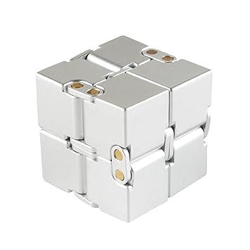 infinity cube amazon. infinity cube, aluminium alloy fidget cube anti-stress and anxiety relief, killing amazon n