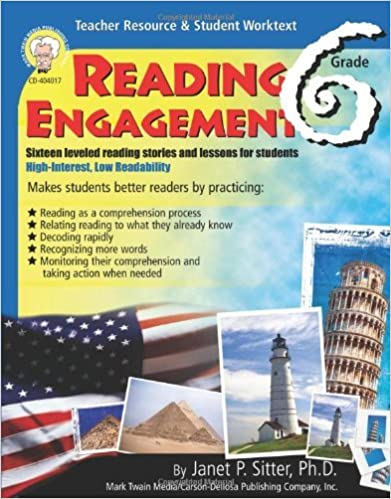 Reading Engagement, Grade 6 by Janet P. Sitter Ph.D. (January 03,2005)