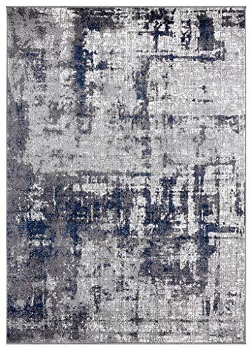 Amazon Com Luxe Weavers Hampstead Denim Abstract 8 X 10