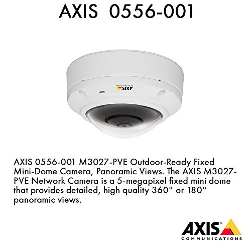 AXIS M3027-PVE Fixed Dome Network Camera 0556-001