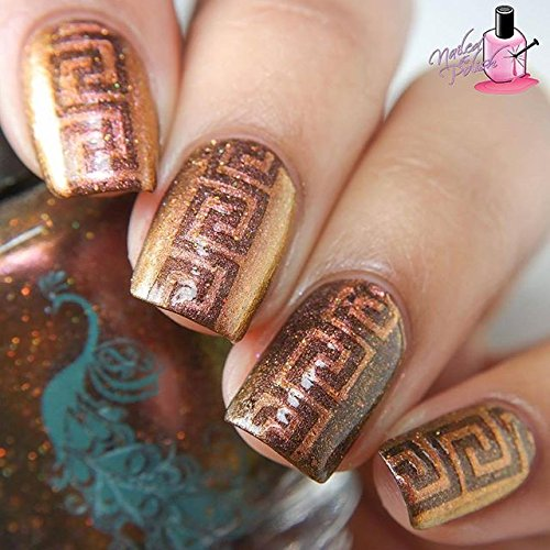 Whats Up Nails Greek Nail Stencils Stickers Vinyls For Nail