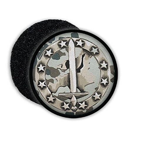 BW Euro corps ISAF EKop Barett badge unit Bundeswehr camouflage - Patch/Patches ()