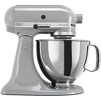 Amazon Com Kitchenaid Artisan 5 Qt Stand Mixer Ksm150ps