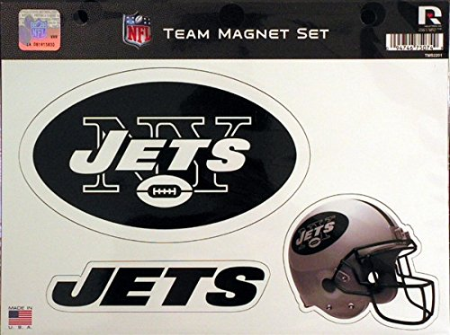 NFL New York Jets NFL Team Magnet Sheet, Green, 11