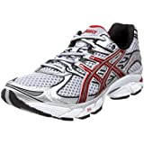 ASICS Men's GEL-Pulse 2 Running Shoe,Silver/Maroon/Black,11 M