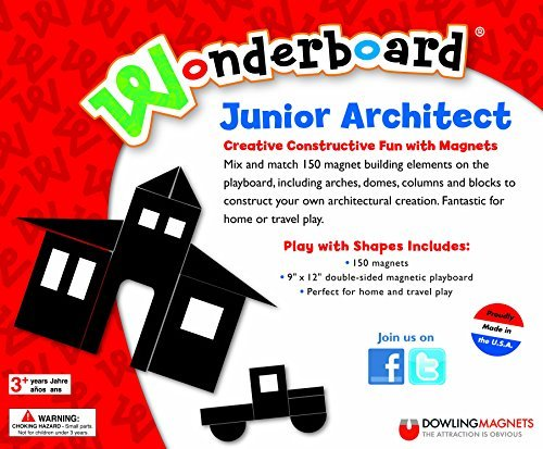 Dowling Magnets Wonderboard Junior Architect by Dowling Magnets