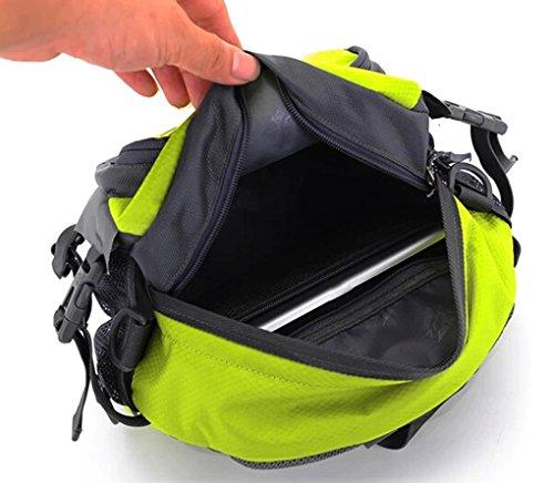 Smartstar Damen Herren Casual Reise Sport Wander Gürteltasche Bauchtasche Hüfttasche - Zwei Wege zu Trage Mit Multifunktions (Grün)