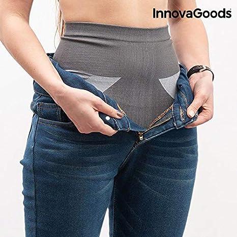 L para Mujer Gris Gris InnovaGoods IG812508 Faja Moldeadora
