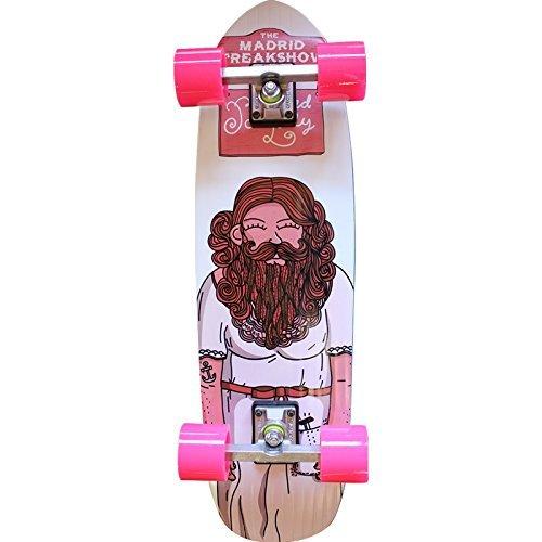 Madrid Skateboards B-Lady Pimp Complete Cruiser Skateboard - 9
