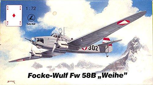 karo-as-172-focke-wulf-fw-58b-weihe-plastic-aircraft-model-kit-am-0372