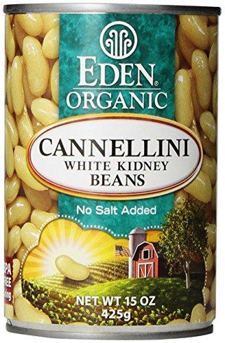 Beans White Kidney (Eden Organic Cannellini White Kidney Beans, 15 Oz)