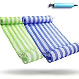 FindUWill 2-Pack Premium Swimming Pool Float