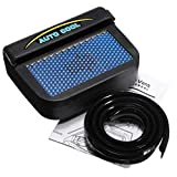 bang khen Solar fan for car window portable cooler to remove heat from cars ventilation