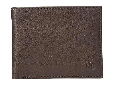 LAUREN Ralph Lauren Men's Tumbled Leather Passcase