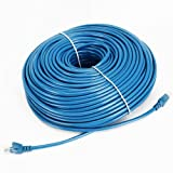 Cable N Wireless 200 Feet High Speed Cat5 Cat5e RJ45 Patch Ethernet Network Internet DSL Cable (200 FT, Blue) for PC, Mac, Laptop, PS2, PS3, XBox, and XBox 360 (US Seller), Best Gadgets