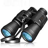 Soradoo Binoculars for Adult Compact Waterproof 20x50 Telescope Sightseeing Climbing Concerts Hiking Campin
