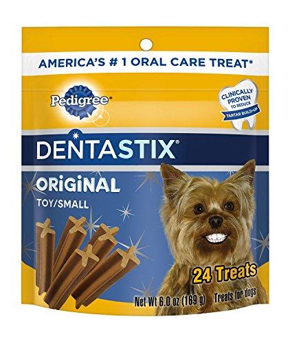 Pedigree Dentastix Min Treats Original Flavor 4-6 oz Packages