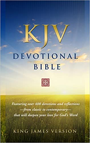 KJV Devotional Bible: King James Version: 9781598567359: Amazon com