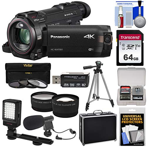 Panasonic HC-WXF991 Wi-Fi 4K Ultra HD Video Camera for sale  Delivered anywhere in USA