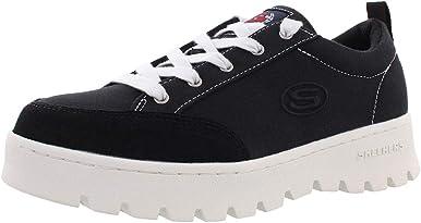 Skechers Street Cleat - Zapatillas de lona para mujer Lucky Street