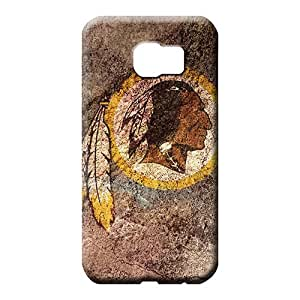samsung galaxy s6 edge Popular Protective Protective Cases phone cover shell washington redskins