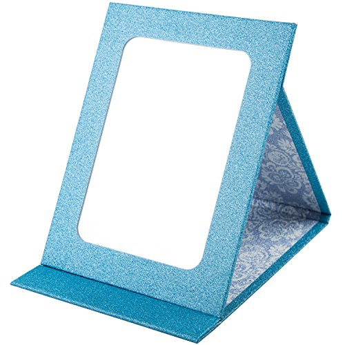 APAS Recycled Paper Mirror Desktop Large Makeup Cosmetics Personal Beauty Folding Mirrors Sky (Recycled Desktop)