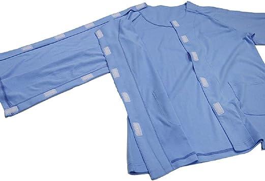 YLOVOW Las Batas de hospitalización para Pacientes hospitalarios se Ajustan cómodamente - Mezcla de algodón de Batas Hospitalarias, Batas para Pacientes útiles y de Moda: Amazon.es: Deportes y aire libre