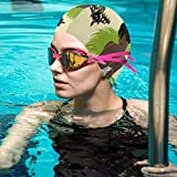 KZANSUI Bianca in Green Swim Bathing Cap