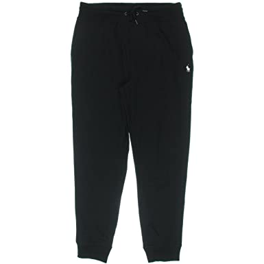 7855860a1e75e Polo Ralph Lauren Mens Stretch Drawstring Sweatpants Black M at ...