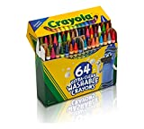 Toys : Crayola Ultra Clean Washable 64 Count Crayons