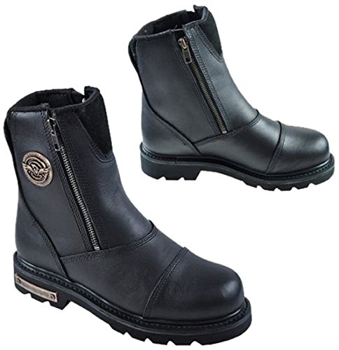 Motorcycle Boots Black - 1