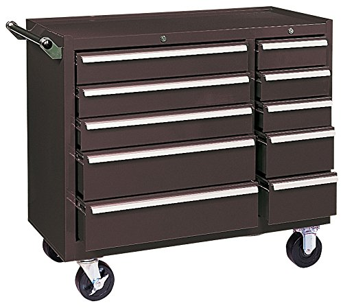 kennedy-manufacturing-310xb-39-10-drawer-industrial-double-bank-roller-cabinet-tan-brown-wrinkle