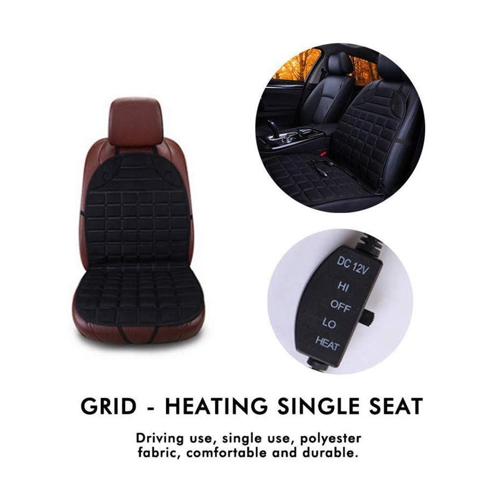 Amazon.com: hcmax cojín de funda de asiento calefactable de ...