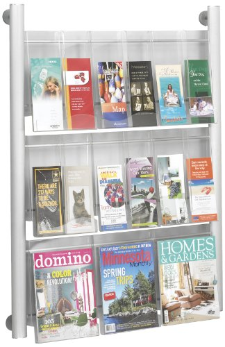 safco-products-4134sl-luxe-magazine-rack-9-pocket-silver