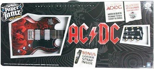 Paper Jamz WowWee 6209 AC / DC - Guitarra con correa de regalo ...