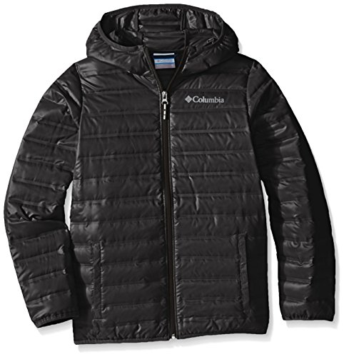 Forward Hooded Down Jacket, Medium, Black (Flash Down Jacket)