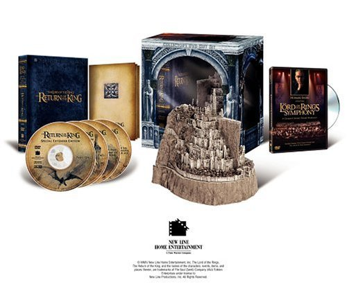 The Lord of the Rings - The Return of the King (Platinum Series Special Extended Edition Collector's Gift Set) by Elijah Wood by New Line Home Entertainment